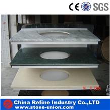 Shanxi Black Granite Prefab Granite Countertops