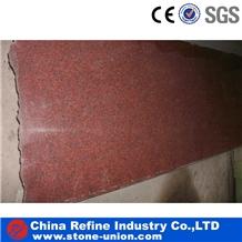 Wholesale Indian Red Multi Granite Slabs & Tiles