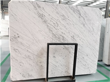 Popular New Bianco Carrara White Marble Slab, Wall Tiles