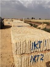 Yellow California, Jaune Boujaad Limestone Blocks