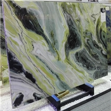 Green Fairy Marble Slab Tiles for Countertop Pavers
