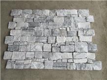 Alaskan Gray Quartzite Stone Cladding Rock Veneer
