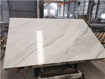 China Jiashi White Marble Slab for Floor Wall