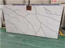 Engineered Stone Calacatta Quartz Stone Top Slabs