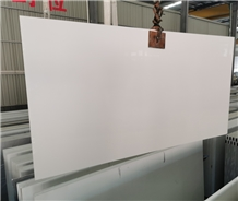 Guangdong Pure White Solid Surface Quartz Slab