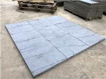 Hainan Grey Ants Line Basalt Floor Covering Tiles