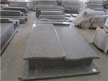 New G664 Granite Custom Monuments Headstone