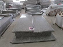 New G664 Granite Tombstone Europe Style Gravestone