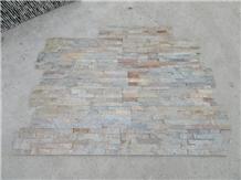 Split Face Rusty Culture Stone Wall Cladding