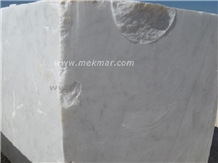 Bianco Ibiza White Marble Block
