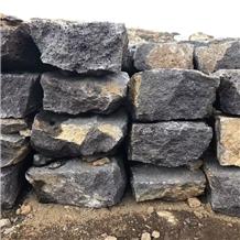 Black Basalt Lava Armor Stone Armour Stone