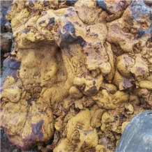 Yellow Lava Stone Boulders