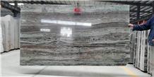 Da Vinci Grain Gey Marble Slabs