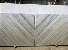 New Viscount White Granite Slab