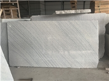 Viscount White Chinese Marble Grey Wave Big Slabs