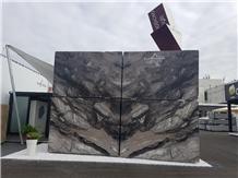 Arabescato Orobico Nero Black Marble Blocks