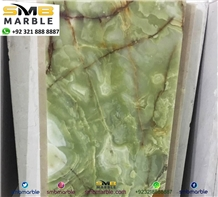 Green Onyx - Pakistan Green Onyx Tiles
