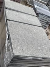 Gabbro Antik Nero Granite Flamed Tiles