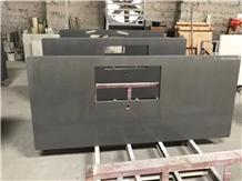 Black Quartz Kitchen Top