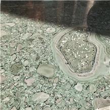 Special Rare Green Hard Granite Slab