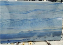 Azul Macaubas Blue Quartzite Polished Slabs