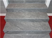 Develi Blue Stone Stair Steps and Risers