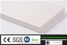 Sparkling White Prefab Quartz Countertop Slab