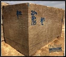Azarshahr Walnut Travertine Blocks