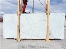 Mugla White Limon Marble Slabs