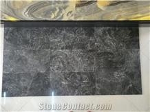 Cosmos Grey River Marble Tiles, Grey Marble Slabs