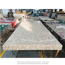 Semi Precious Quartz Stone Artificial Stone Countertop
