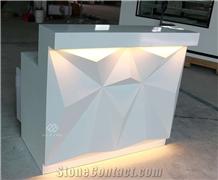 Luxury Marble Nightclub Furniture Led Bar Counter