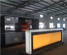 New Design Marble Led Light Restaurant Bar Counter