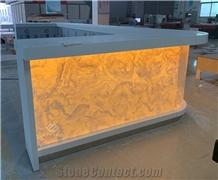 New Design Nightclub Marble Customized Bar Counter