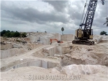 Colonial White Granite Blocks from Own Quarry
