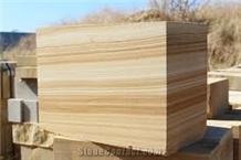Teak Wood Sandstone Blocks