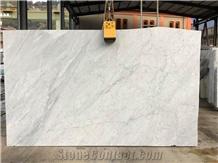 Bianco Carrara Marble Slabs, Tiles