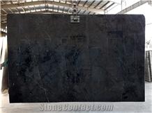 Black Marble Stone Slabs, India Black Marble