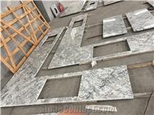 Brasil Alaska White Granite Kitchen Tops