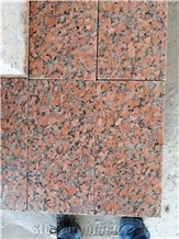 Project Design G562 Maple Red Granite Tiles Flamed