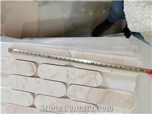 Cream Rose Mosaic,Pink Marble,Wall Decoration