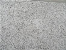 New Pearl White Granite Flamed Tiles