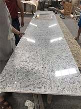 Rose White Granite Polished Countertop
