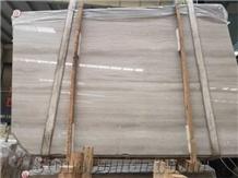Wooden White Grain,Guizhou Athens Serpeggiante Marble Slabs&Tiles