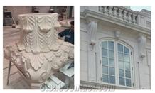 Blanche Ramage Limestone Building Ornaments