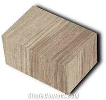 Cream Travertine Blocks
