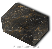 Golden Black Marble Blocks