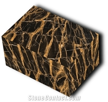Persian Portoro Marble Blocks