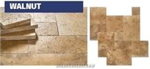 Walnut Travertine Pattern, Walnut Travertine Tiles