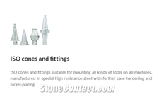 Cnc Machines Iso Cones and Fittings